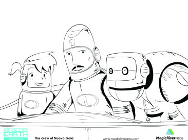 Crew Coloring page